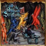 Antiquus Scriptum - Ars longa, Vita Brevis...