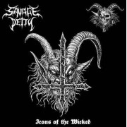 Savage Deity / Goatchrist 666 - Icons of the Wicked