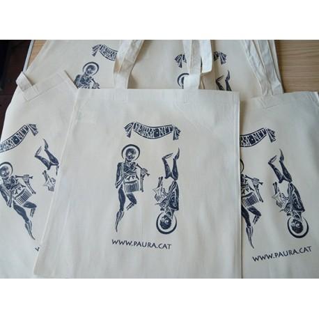 "Bolsa ""Tote Bag"" - Negra Nit Esquelets"