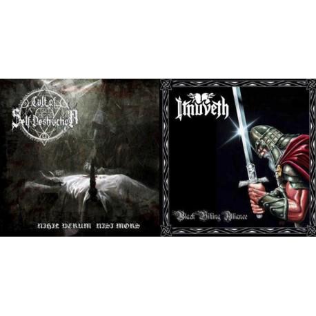 Itnuveth / Cult of Self Destruction - Black Viking Alliance / Nihil Verum Nisi Mors