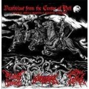 Morbid Funeral / Necrolisis / Paganus Doctrina - Deathblast from the Center of Hell