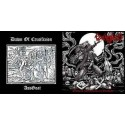 Excruciate 666 / Dawn of Crucifixion - Obscene Perversion in Genocide / AssGoat