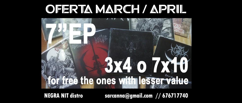 March / April 2021